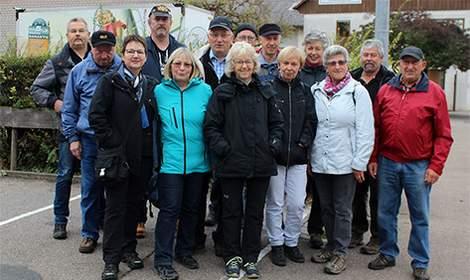 Herbstwanderung 2018 nach Roßwag