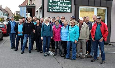 Herbstwanderung 2017 nach Roßwag