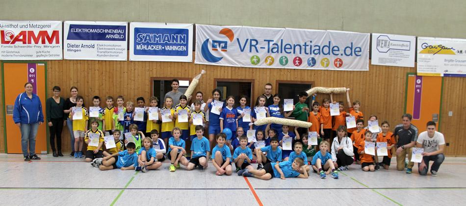 Siegerehrung VR-Talentiade