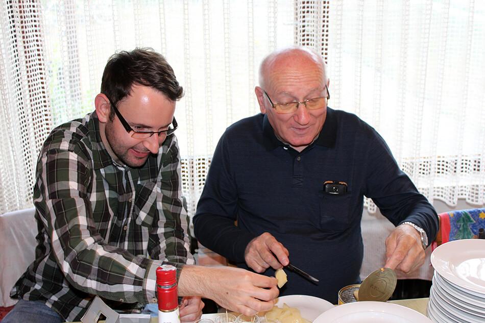 Willi mit Schnitz
