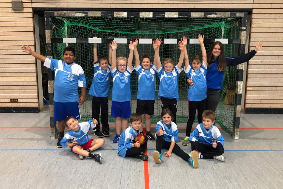 Gemischte E-Jugend SV Illingen Handball