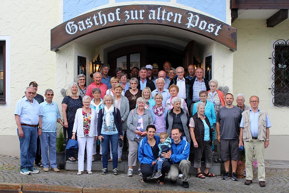Teilnehmer am Ausflug