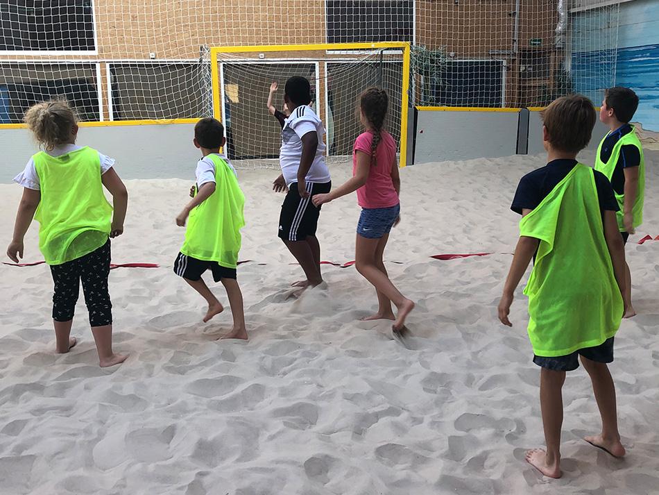 Gemischte E-Jugend der Illinger Handballer